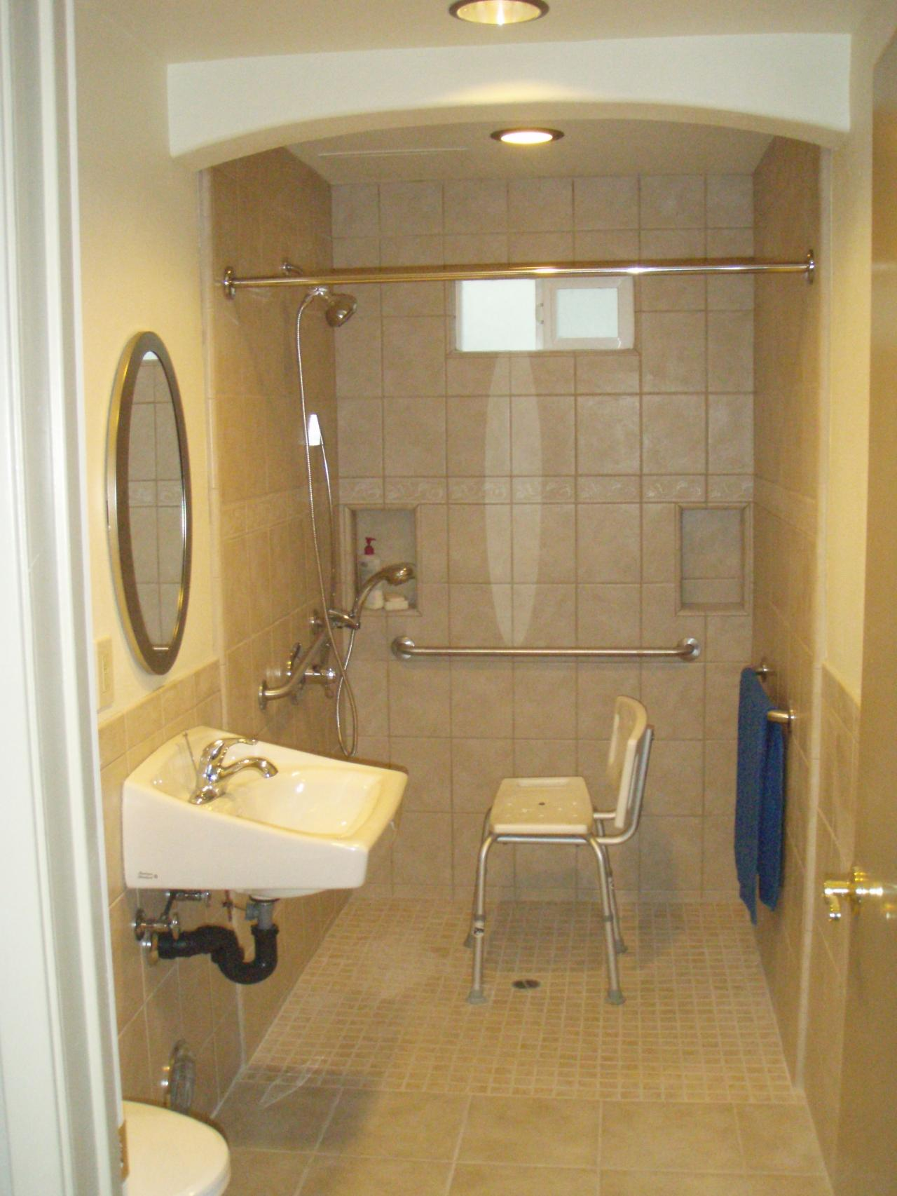 Bathroom Remodeling For Handicap Accessibility : Prodan construction handicapped bathroom ms hayashi